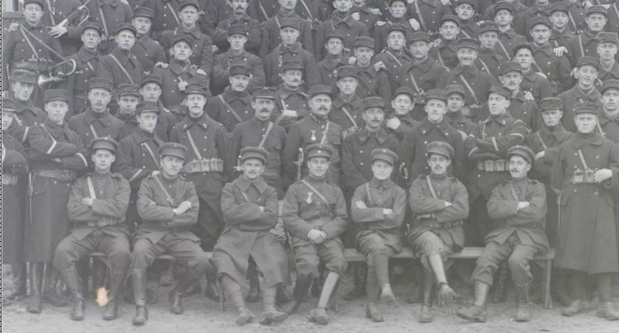 Soldats a identifier, plaques photographiques 2020-025