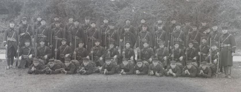 Soldats a identifier, plaques photographiques 2020-026