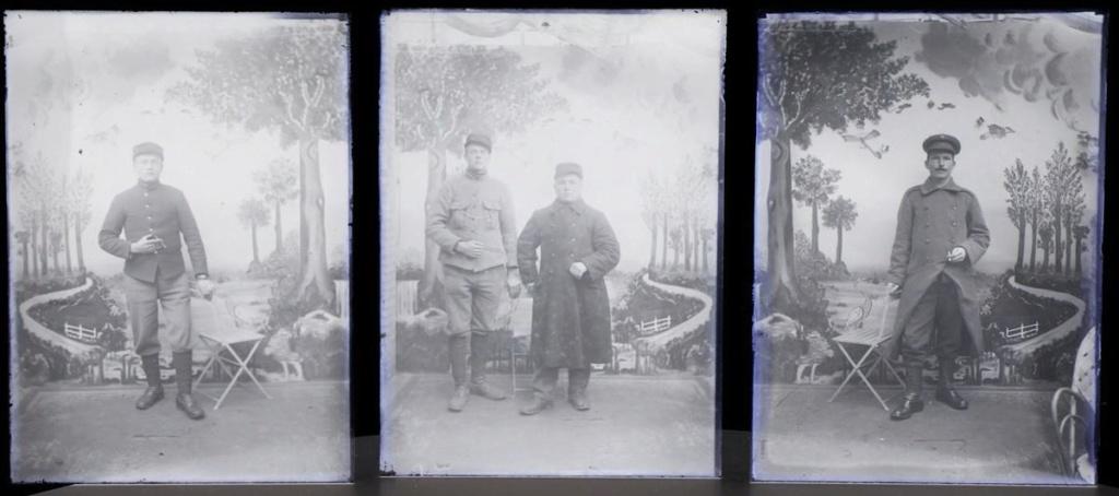 Soldats a identifier, plaques photographiques 22_210