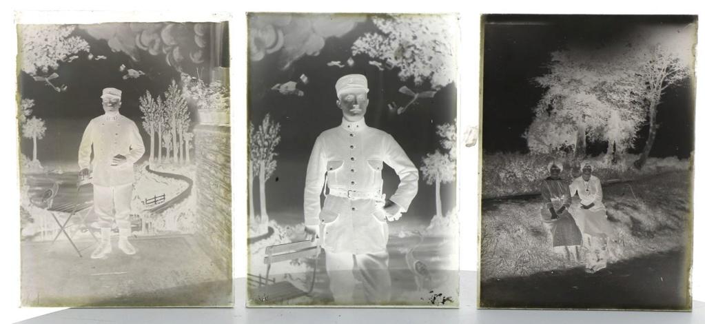 Soldats a identifier, plaques photographiques 22_510