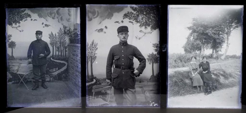 Soldats a identifier, plaques photographiques 22_610