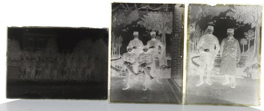Soldats a identifier, plaques photographiques 22_710