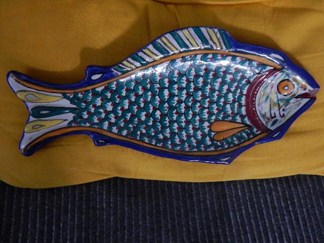 poisson à suspendre multicolore Nabeul Tunisie Dscn2329