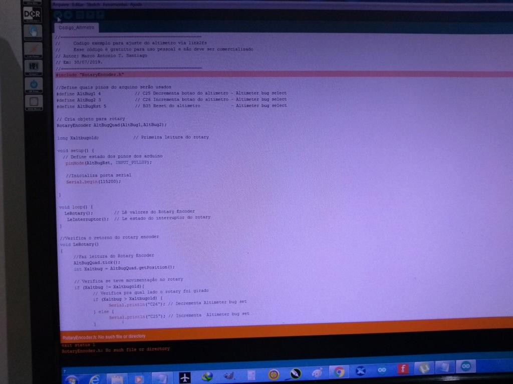 Arduino + Link2fs Codigo10
