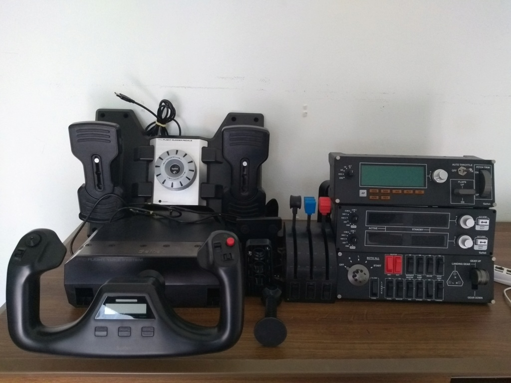 Arduino + Link2fs Saitek10