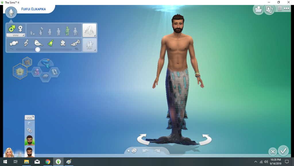 My sim won't turn into a Mermaid 211