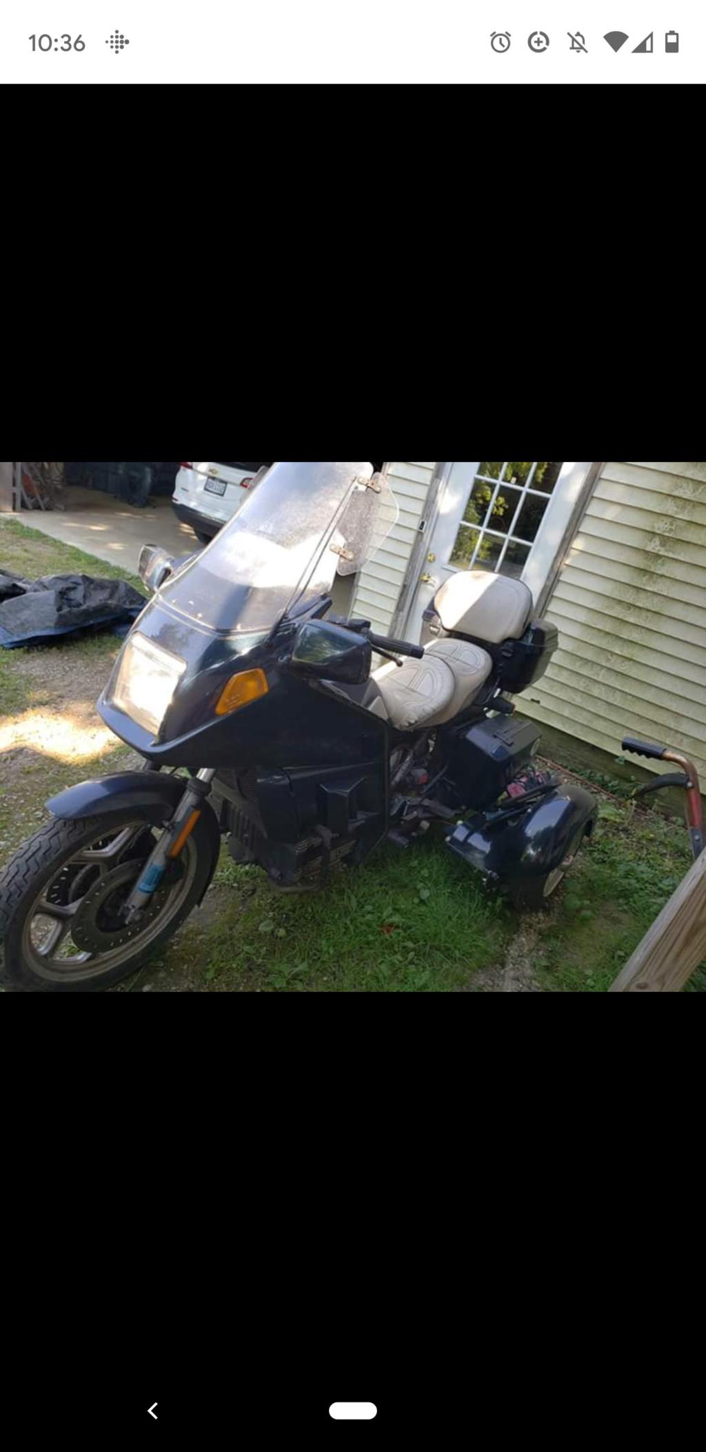 K100 rs Trike setup for sale Screen15
