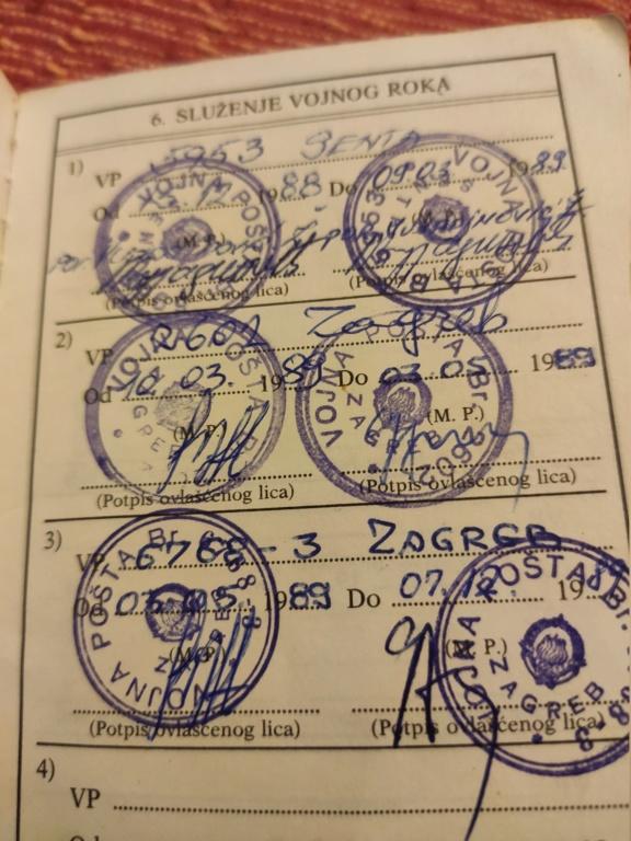 Zagreb VP 2602 tehnička četa Črnomerec 15850810