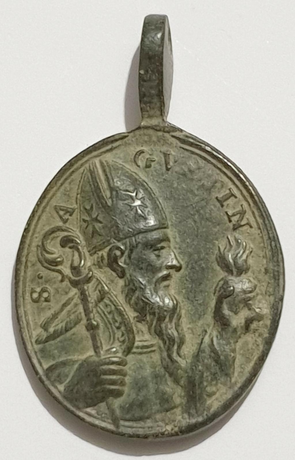 Beata Rita de Casia / San Agustín de Hipona. S. XVIII Veroni11