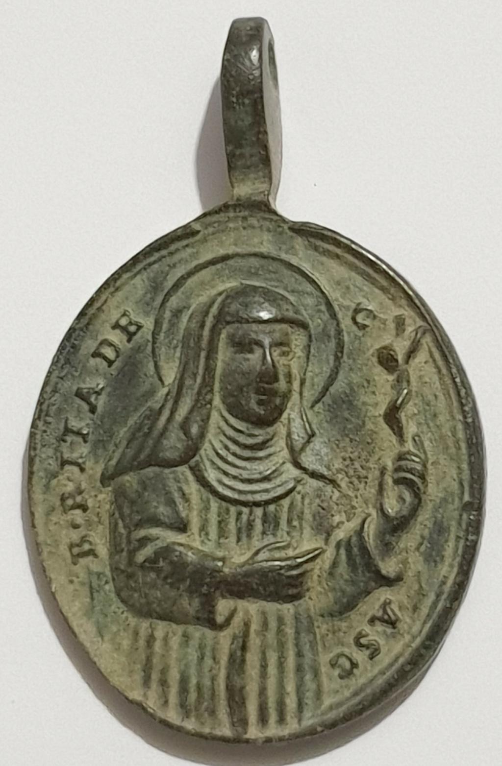 Beata Rita de Casia / San Agustín de Hipona. S. XVIII Veroni12