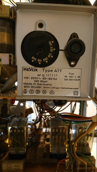 Revox A77 con problemi ai motori (credo) - Pagina 2 Revox10