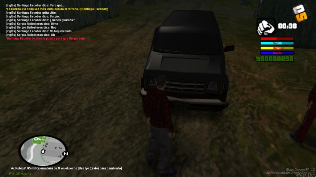 Secuestro De Camioneta De Mike Holland, comisario de HRPD(Cartel de medellin) Mta-sc20