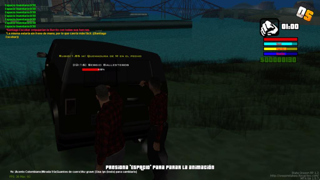 Secuestro De Camioneta De Mike Holland, comisario de HRPD(Cartel de medellin) Mta-sc22