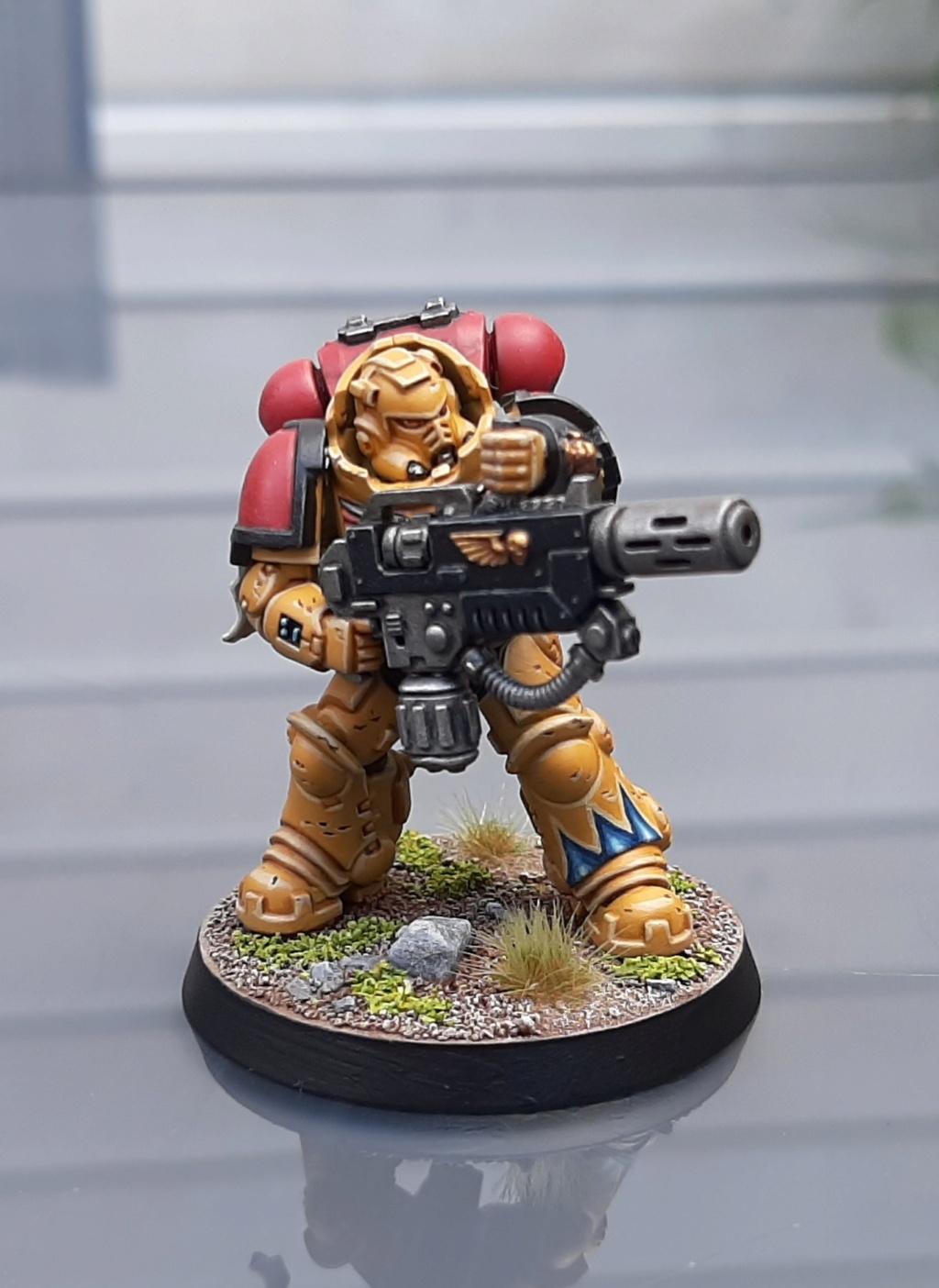 [Galerie] Marines 40K 20201013