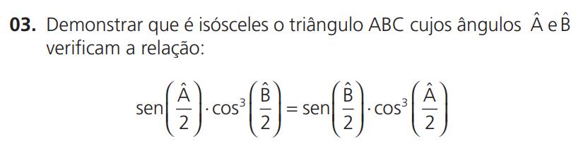 Trigonometria - Demonstre que o triângulo é isósceles Screen10