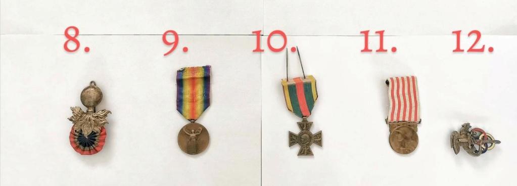 Décorations militaires de la WWI à estimer Fb_img10