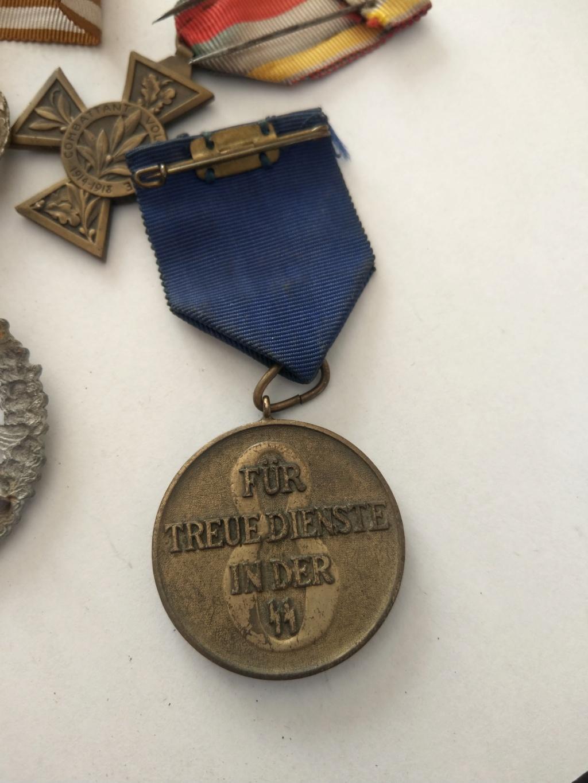 Médaille SS 8 ans de service dans la police - WW2 Imag2518