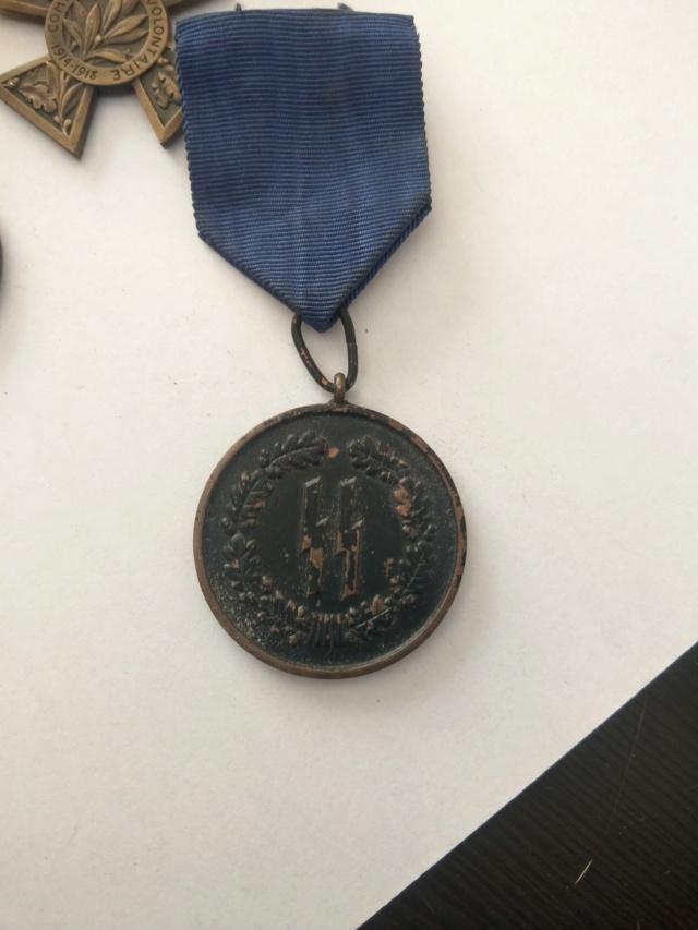 Médaille police SS - 8 ans de service - WW2 Imag2520