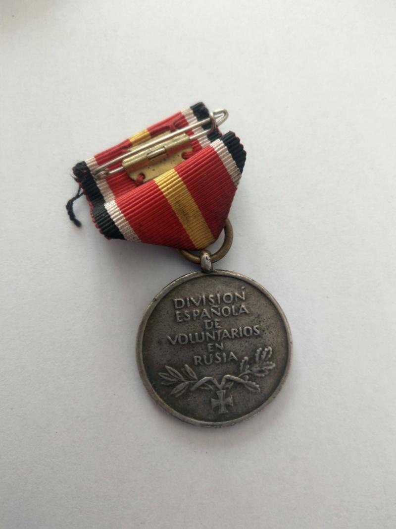Médaille des volontaires espagnols partis en Russie - WW2 Imag2521