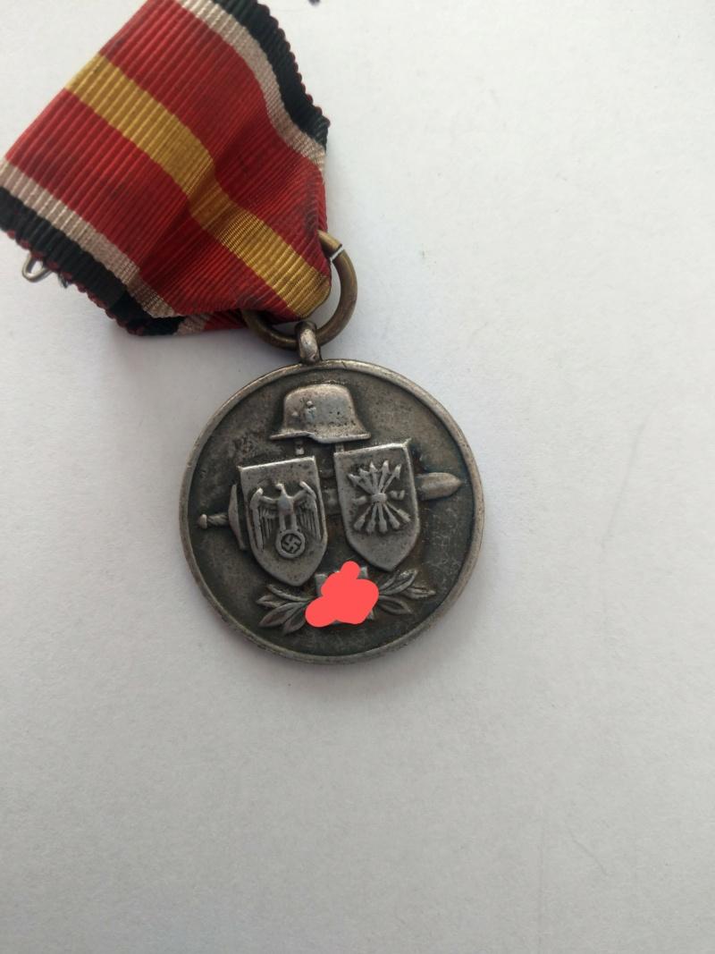 Médaille des volontaires espagnols partis en Russie - WW2 Imag2522