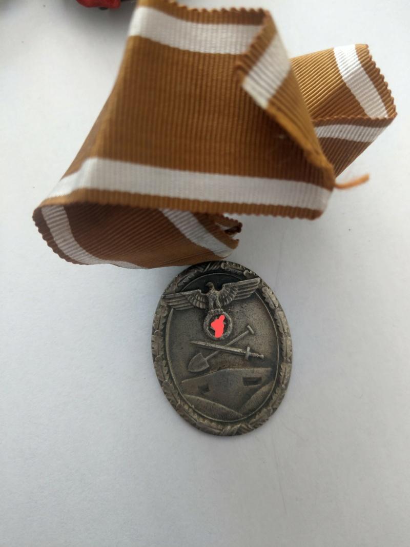 Médaille de construction du Mur de l'Ouest - WW2 Imag2525