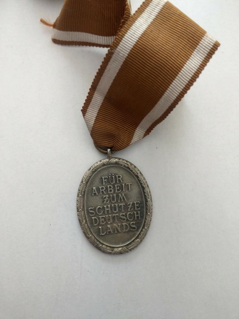 Médaille de construction du Mur de l'Ouest - WW2 Imag2526