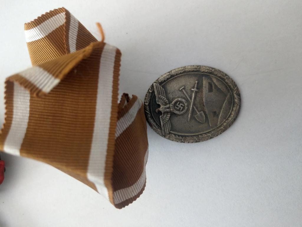 Médaille de construction du Mur de l'Ouest - WW2 Imag2527