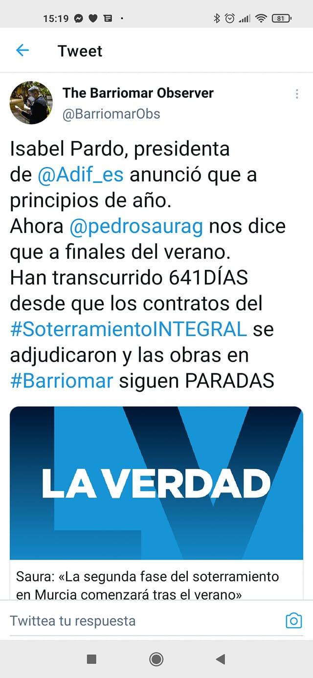 el AVE quizá llegará soterrado a Murcia pero la impunidad política camina por la superficie. - Página 10 15330710