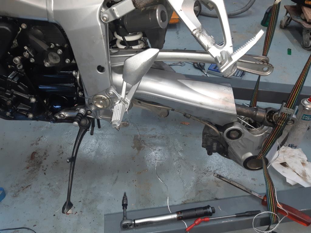 Problème remontage Cardan arrière BMW K1200 S 20201211