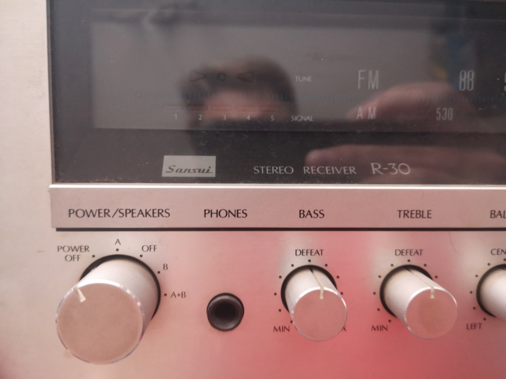 Restauración Sansui R30 stereo Receiver Img_2070