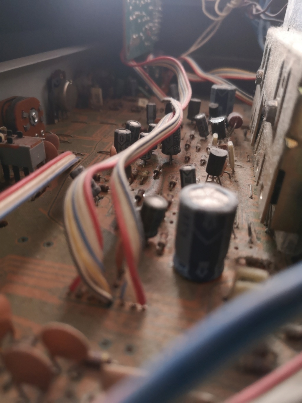 Restauración Sansui R30 stereo Receiver Img_2076