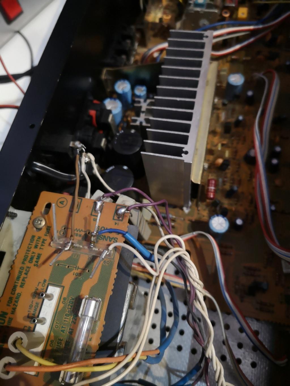 Restauración Sansui R30 stereo Receiver Img_2079