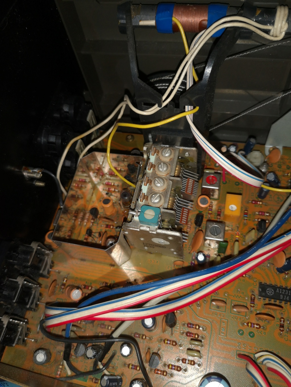 Restauración Sansui R30 stereo Receiver Img_2080