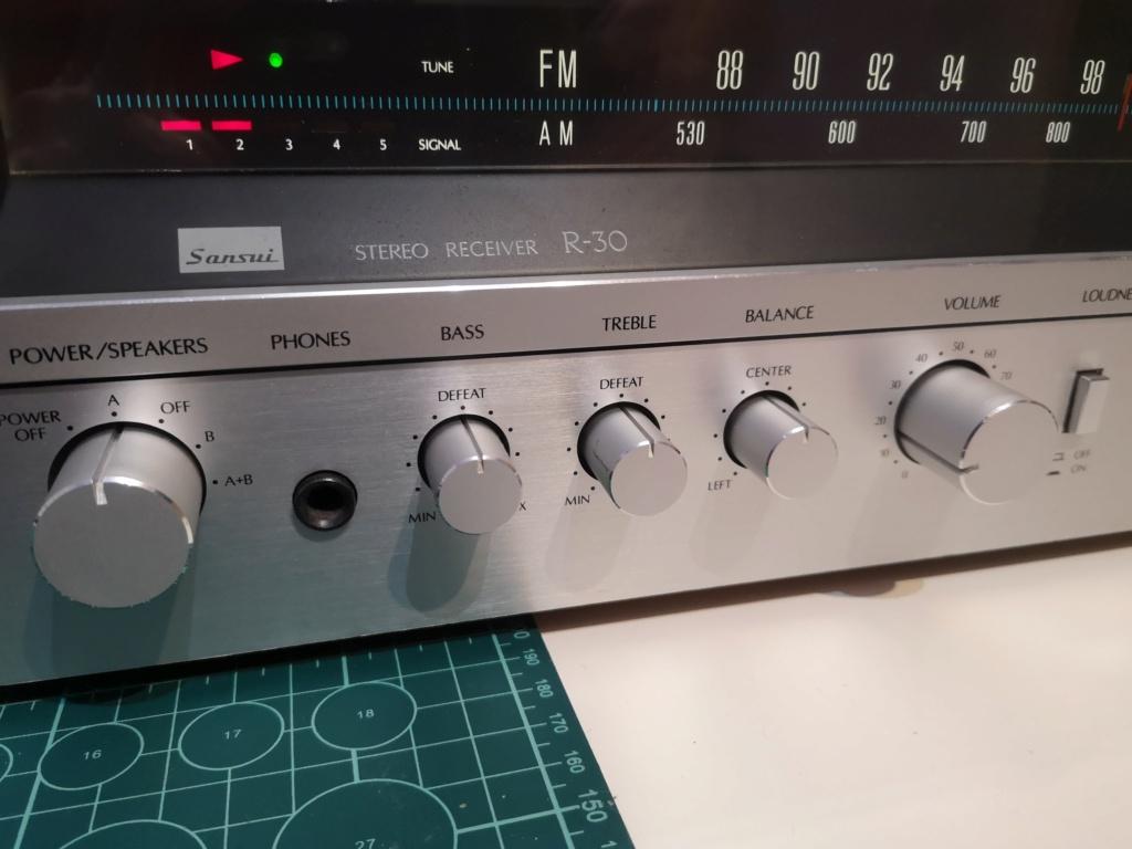 Restauración Sansui R30 stereo Receiver Img_2083