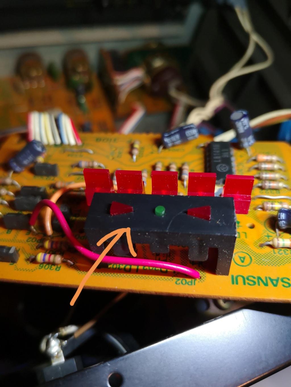 Restauración Sansui R30 stereo Receiver Img_2087