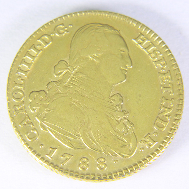 2 escudos Carlos IV 1788 Webcar10