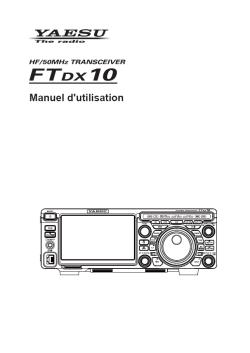 New YAESU FT-DX 10  Manuel10