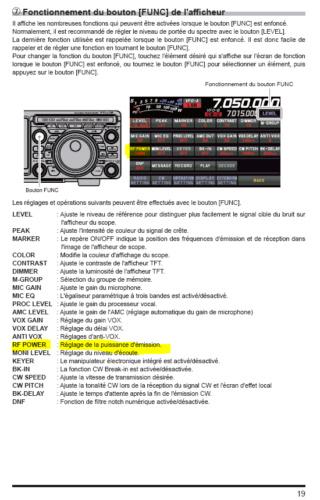 FTdx-10 / 101 et autres TRX moderne Menus10