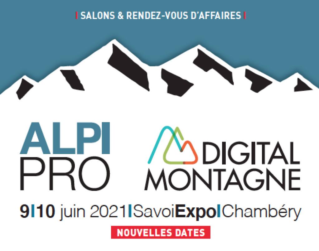 Les salons Alpipro et Digital Montagne décalent leurs dates aux 9 et 10 juin 2021 Alpipr10