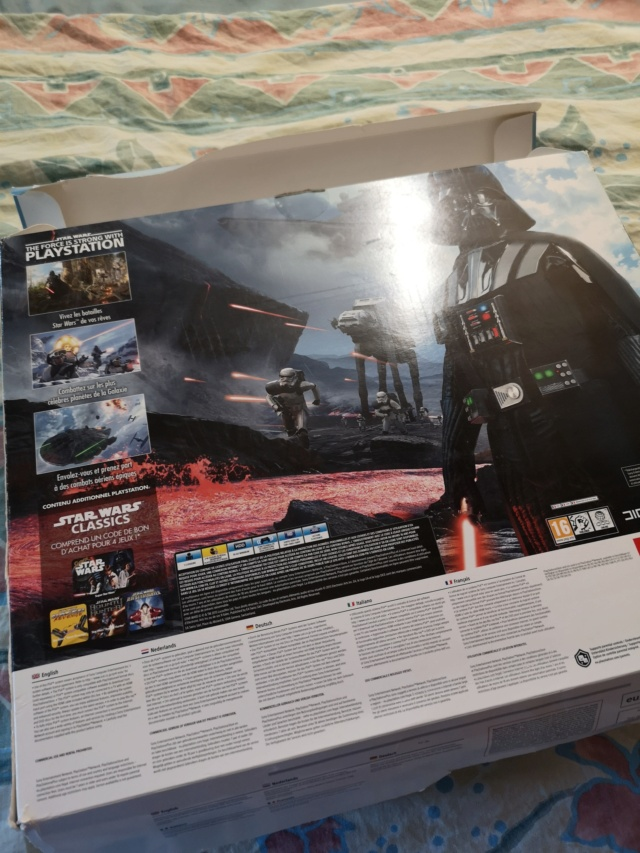PS4 pro collector Star Wars et PS4 collector Star Wars + GOW Collector Img_2030