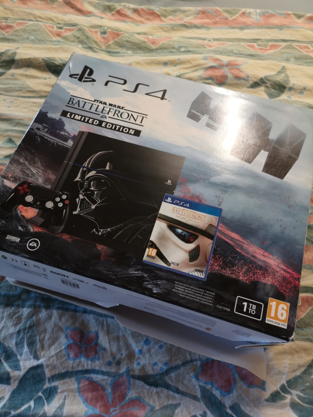PS4 pro collector Star Wars et PS4 collector Star Wars + GOW Collector Img_2033