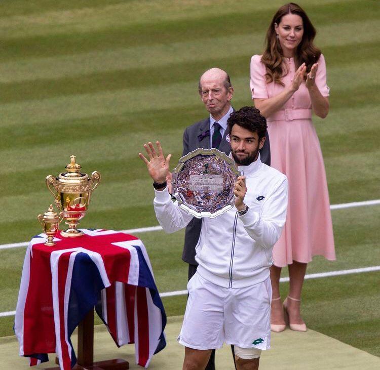 Berrettini non riesce nell'impresa: è Djokovic a trionfare a Wimbledon Berret11