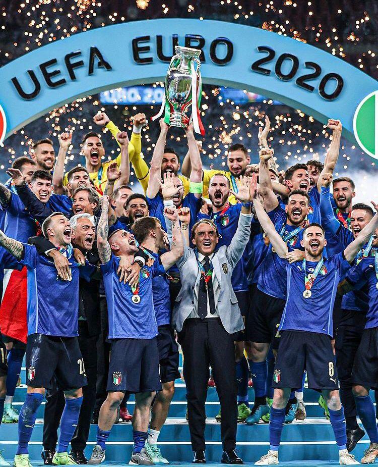Italia Campione d'Europa! Italia10