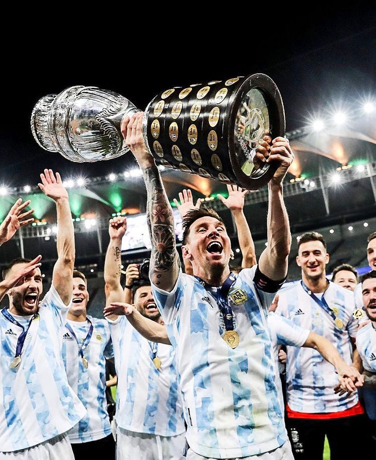 [Copa America] Messi vince il primo trofeo con l'albiceleste Messi10