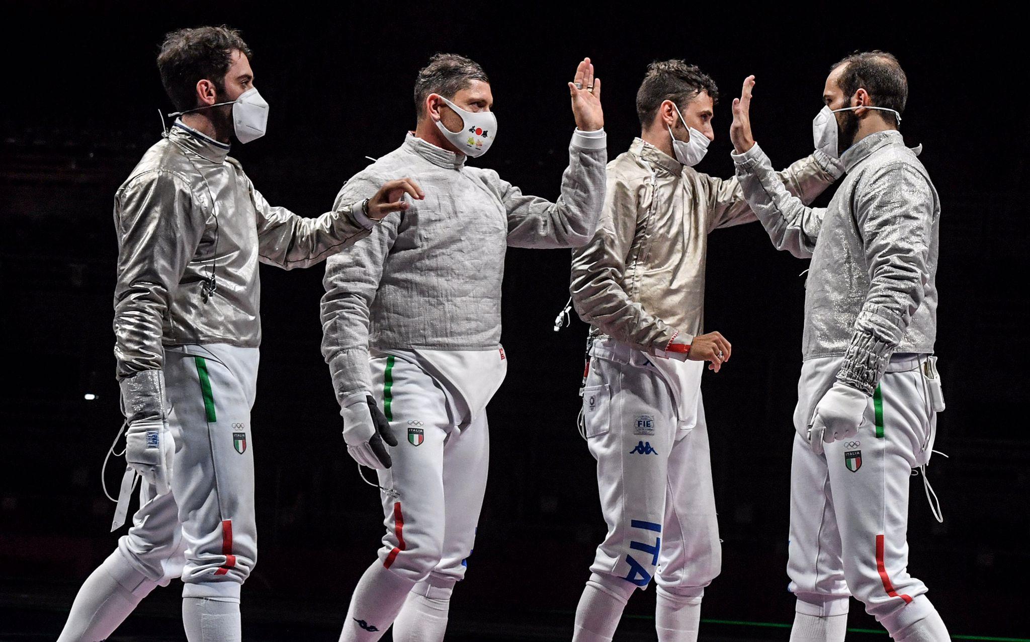 5° giorno di gare a Tokyo: Grandi sorprese per l'Italia Sciabo10