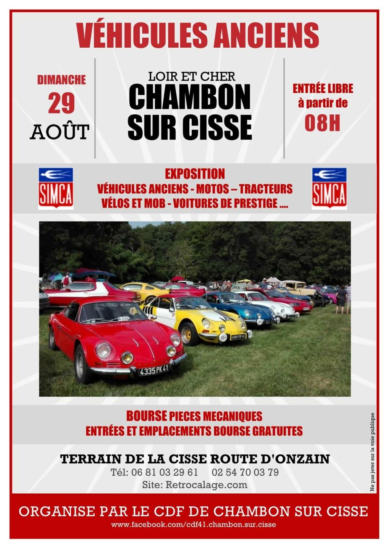 (41) Chambon sur Cisse, venez représenter le club avec nous le 29 Aout 2021 Exposi12