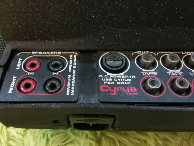 Cyrus 2 Integrated Amplifier (Used)  Img_2019