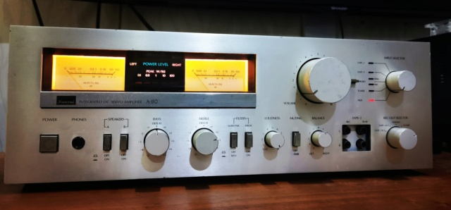 Sansui A80 Stereo Integrater Amplifier (Used)  Img_2029