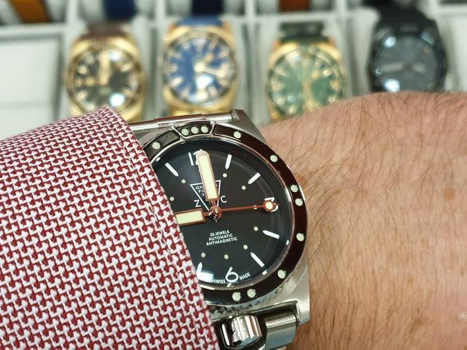 Stef à la 4eme Bourse Horlogère de Dourdan Dimanche 24 novembre  76705010