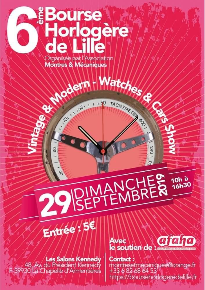Pequignet Manuf Exclusives et limitées en avant première a la Bourse de Lille... Receiv10
